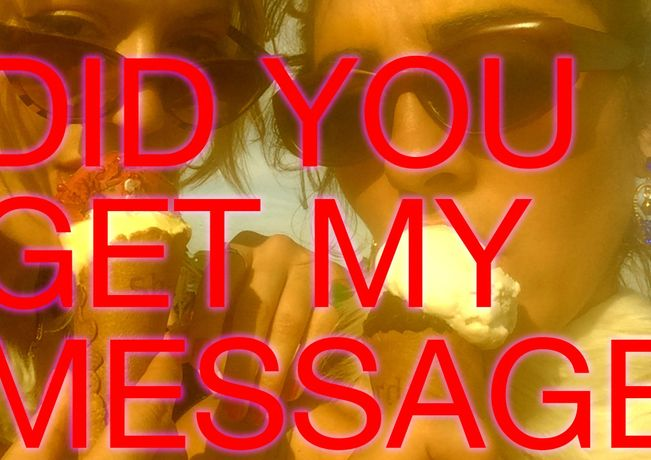 Did you get my message?: Image 0