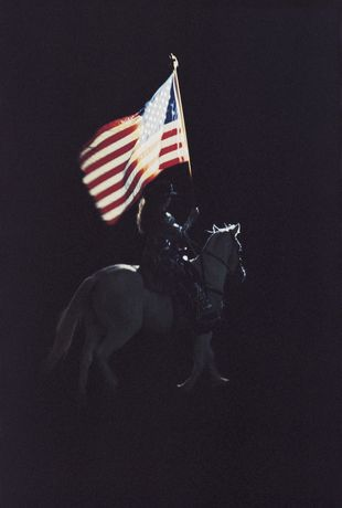 Dieter Blum: American Flag, 1992 Pigmentdruck/Pigment print150 x 100 cm, Ed. 1/6 Erworben/Acquired 2016 Daimler Art Collection, Stuttgart/Berlin