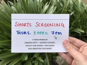 Digital Notes: Short screening, Sophie Lindsey