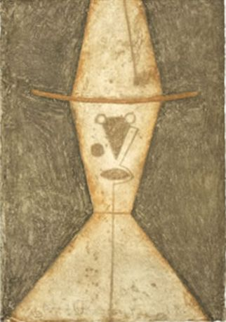 Rufino Tamayo, Cabeza Con Sombrero, 1977 © 2019 Tamayo Heirs /Mexico / Licensed by VAGA at Artists Rights Society (ARS), NY