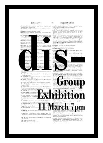 dis- Group exhibition curated by Ayala Gazit & Katarina Murto
