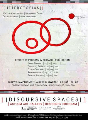 [ [ Discursive spaces ] ] Residency Program | Artist Showcase