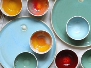 Plates by Gill Thompson