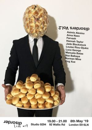 Disorders Vol.2 Poster Asimis Alexiou Let them eat cake