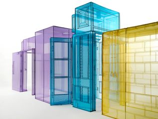 Do Ho Suh, My Home/s - Hubs, 2016