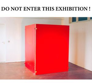 Do Not Enter The E_xhibition!