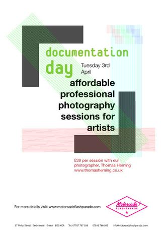 Documentation Day - Affordable Photography Sessions for Artists: Image 0