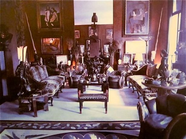 Dominique Nabokov. Paris Living Rooms