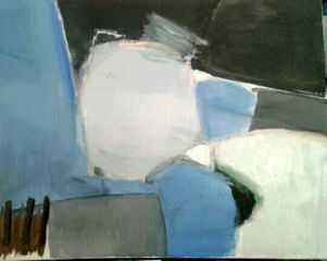 OIL ON CANVAS by DONAL RYAN
