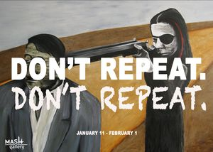 Don't Repeat. Don't Repeat