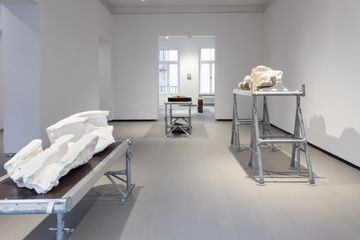»Don't think about death« exhibition view at REITER | Berlin prospect