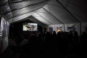 Screening of programme of artist film at Doremifasolasido 2015 at the Merz Barn. Featuring film by Louis-Jack Horton-Stephens