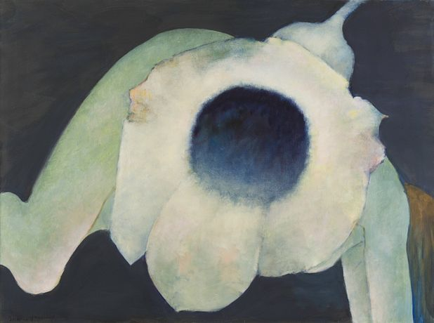 Zephirium apochripholiae (Windwort), 1997, oil on canvas, Copyright The Destina Foundation, New York; Courtesy Alison Jacques Gallery, London
