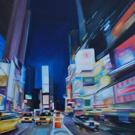 Downtown: Original Oil Paintings: Image 0