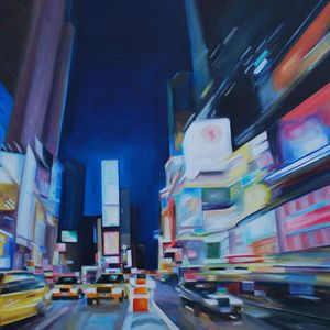 Downtown: Original Oil Paintings