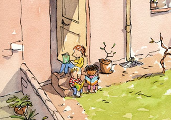 Draw Me a Story: The Art of Illustration for Children: Image 0