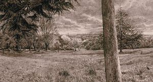 DRAWING A WIDER VIEW - Exhibition of drawings by Christopher Green