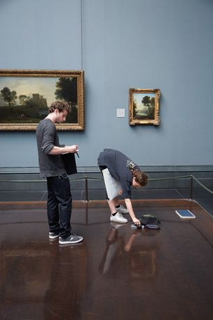 Drawing at the National Gallery: Image 0