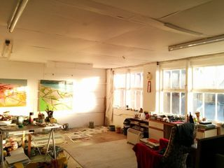 Simon Carter's studio