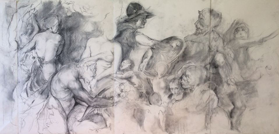 Drawing Rubens at The National Gallery: Image 0
