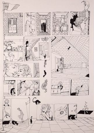 Drawing the Graphic Novel: Intensive One Week Christmas Course: Image 0