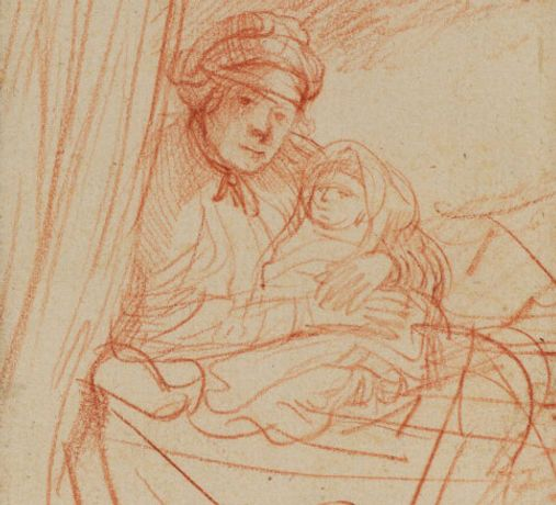 Drawings by Rembrandt: Image 0