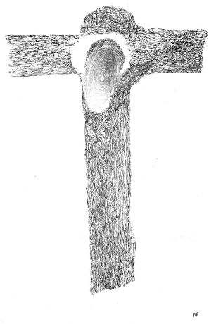 Drawings of the Crucifixion by Paul Freud: Image 0