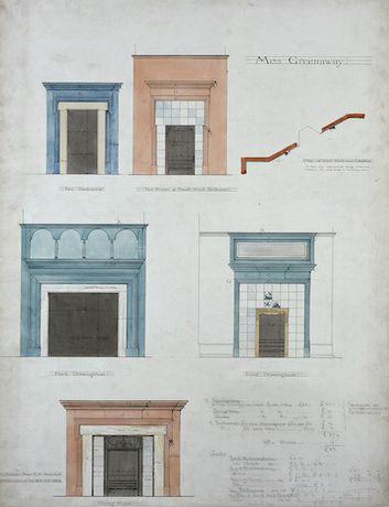 Dream, Draw, Work - Architectural Drawings by Norman Shaw RA: Image 0