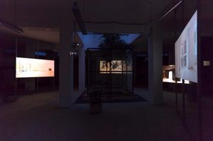 Michael Pohl - Betongold, 5 channel video installation
