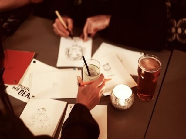 Drink and Draw - by London Sketchbook Festival: Image 0