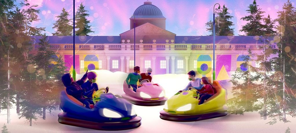 Drink, Dine And Dodgems At Somerset House: Image 0