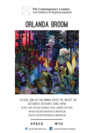 Drinks Event with artist, Orlanda Broom