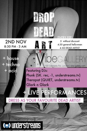 'Drop Dead Art' Halloween Party @ the Vibe: Image 0