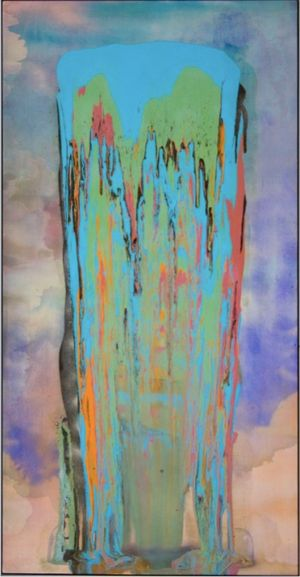 Drop, Roll, Slide, Drip ? Frank Bowling?s Poured Paintings 1973-1978
