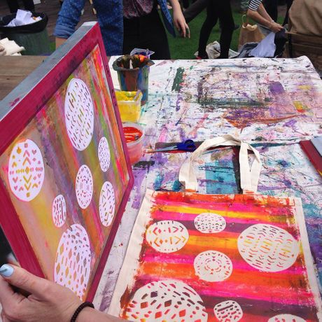 Drop-in Screen Printing Workshop: Image 4