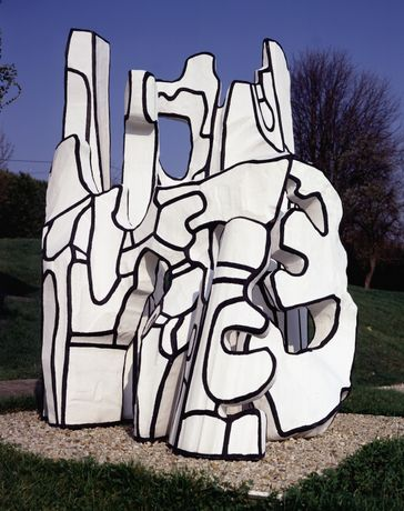Jean Dubuffet, Monument à la bête debout (1983). Collection Fondation Dubuffet, Paris