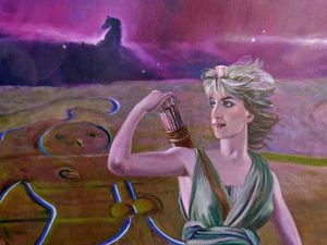 Diana of the Cerne Giant and Orion (detail)