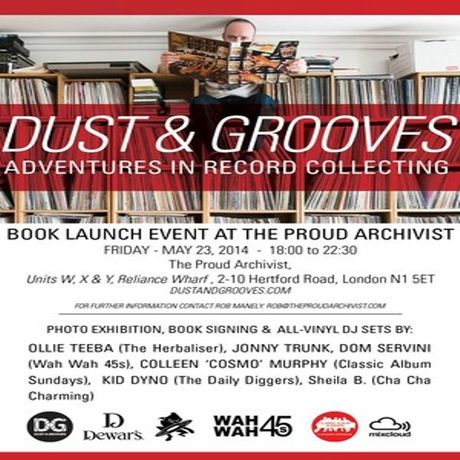 'Dust and Groove' Book and Exhibition Launch: Image 0