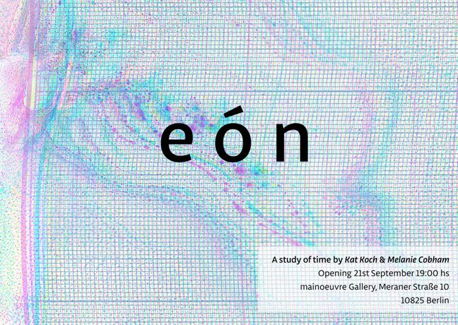eón: A study of time by Kat Koch and Melanie Cobham: Image 0