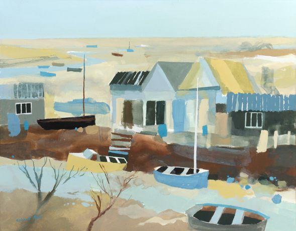 Brancaster Staithe ii by Richard Tuff