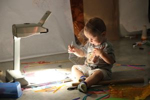 Early Years Workshops |Project Light with artist educator Natalie Zervou