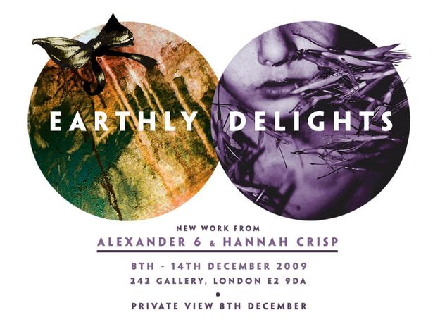 Earthly Delights: new works by Alexander 6 and Hannah Crisp: Image 0