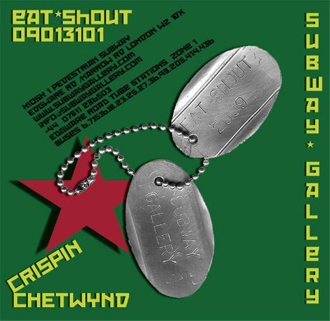 EAT  SHOUT by Crispin Chetwynd: Image 0