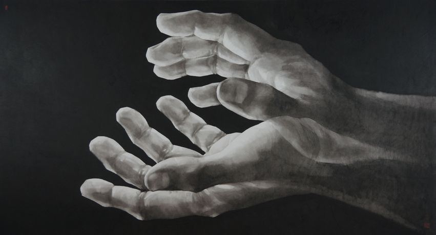 Qu Leilei. Hope Remains in Our Hands. Image courtesy of the artist and 3812 Gallery.