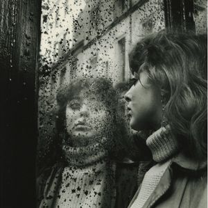 Vali Myers in Saint Germain des Pres, Paris, 1951 Gelatin silver print; printed c.1980 Image size: 10 1/4 x 10 3/8 inches Paper size: 14 x 11 inches