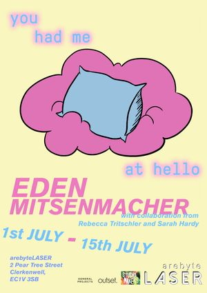 Eden Mitsenmacher you had me at hello
