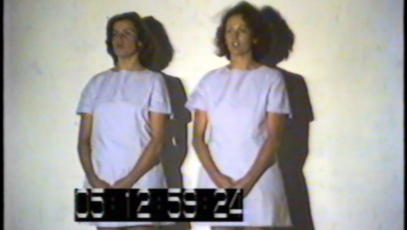 Told by an Idiot, Derek Kreckler, Adrienne Gaha and Sarah Miller, 1988. Original documentation by Projects UK_Digitised as part of Edge of an Era (2018)