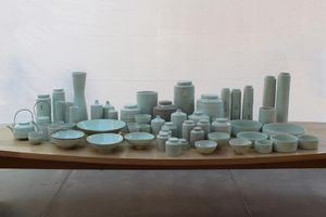 Edmund de Waal: Early work: vessels from the Rosenheimer Collection