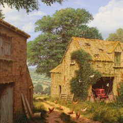 'Farmyard Corner' by Edward Hersey