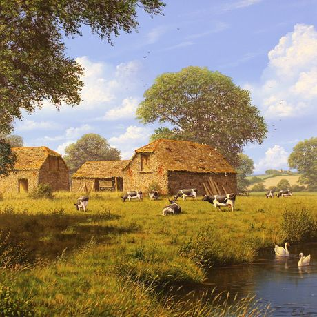 'Summer Farm' by Edward Hersey